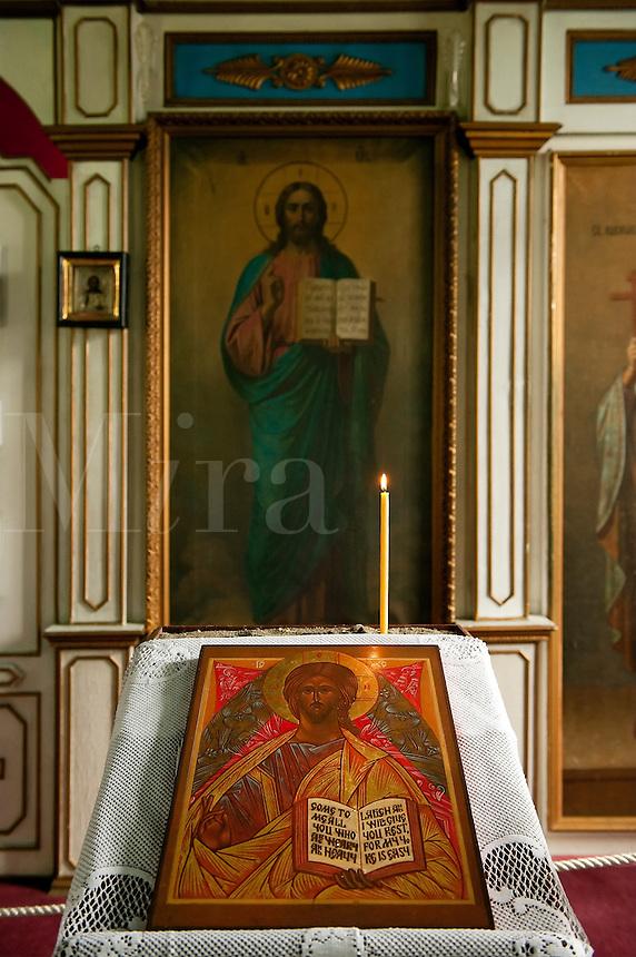 St Nicholas Russian Orthodox Church, Juneau, Alaska, USA,