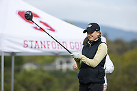 STANFORD, CA - APRIL 24: Ellie Gower at Stanford Golf Course on April 24, 2021 in Stanford, California.