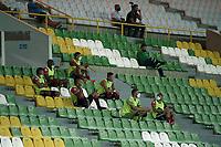 ARMENIA - COLOMBIA, 17-10-2020. Cúcuta Deportivo y Envigado F.C. en partido por la fecha 15 de la Liga BetPlay DIMAYOR 2020 jugado en el estadio Centenario de la ciudad de Armenia. / Cucuta Deportivo and Envigado F.C. in match for the date 15 as part of BetPlay DIMAYOR League 2020 played at Centenario stadium in Armenia city. Photo: VizzorImage / Ricardo Vejarano / Cont