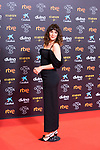 Actress Belen Cuesta attends the red carpet previous to Goya Awards 2021 Gala in Malaga . March 06, 2021. (Alterphotos/Francis González)