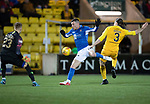 Livingston v St Johnstone…..22.01.20   Toni Macaroni Arena   SPFL<br />Michael O'Halloran gets by Ciaron Brown but is blocked by keeper Robbie McCrorie<br />Picture by Graeme Hart.<br />Copyright Perthshire Picture Agency<br />Tel: 01738 623350  Mobile: 07990 594431