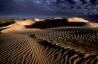 Images from the Book Journey Through Colour and Time. Simpson Desert sand dunes at sunset, Queensland, Australia