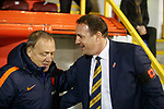 Dick Advocaat and Malky Mackay