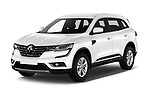 2017 Renault Koleos Zen 5 Door SUV angular front stock photos of front three quarter view