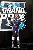 #51: Romain Grosjean, Dale Coyne Racing with RWR Honda<br /> Victory Lane