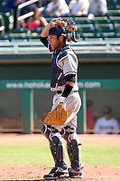 Austin Romine - Surprise Rafters, 2009 Arizona Fall League.Photo by:  Bill Mitchell/Four Seam Images..