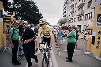 Chris Froome (GBR/SKY) at the start<br /> <br /> 104th Tour de France 2017<br /> Stage 7 - Troyes › Nuits-Saint-Georges (214km)