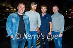 Enjoying the evening in Killarney on Saturday, l to r: Eamon Ferris, Paudi O'Sullivan, Maurice Kearney and Sean Griffin from Ardfert.