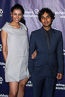 """BEVERLY HILLS, CA, USA - MARCH 26: Neha Kapur, Kunal Nayyar at the 22nd """"A Night At Sardi's"""" To Benefit The Alzheimer's Association held at the Beverly Hilton Hotel on March 26, 2014 in Beverly Hills, California, United States. (Photo by Xavier Collin/Celebrity Monitor)"""