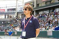 Abner Rogers LA Sol head coach. The Boston Breakers and LA Sol played to a 0-0 draw at Home Depot Center stadium in Carson, California on Sunday May 10, 2009.   .
