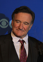 """Robin Williams """"The Crazy Ones"""" at the CBS Upfront on May 15, 2013 at Lincoln Center, New York City, New York. (Photo by Sue Coflin/Max Photos)"""