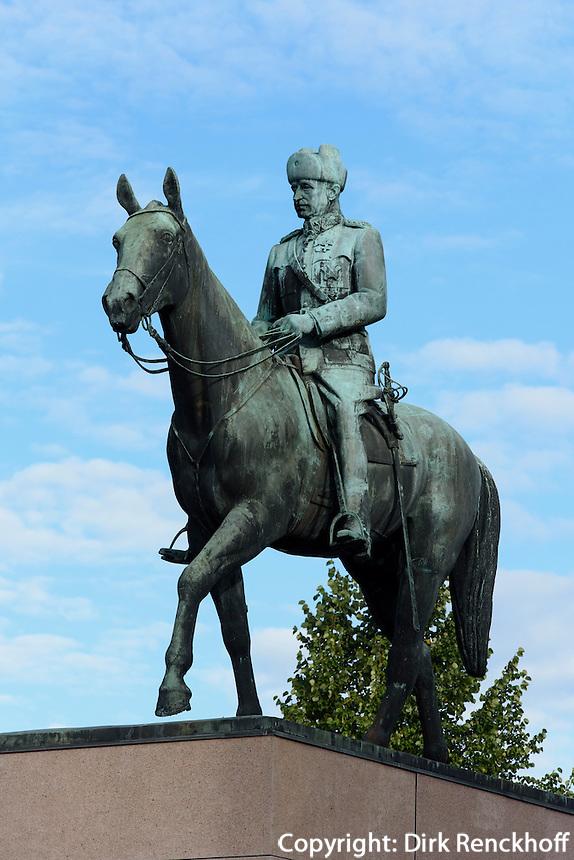 Mannerheim-Denkmal in Helsinki, Finnland