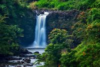 Uma Uma Falls. Hawaii Island. The Big Island