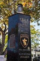 Miami, Florida.  Memorial to the Martyrs of the Bay of Pigs Invasion, Little Havana.