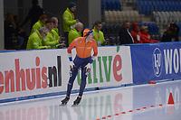 SPEEDSKATING: 22-11-2019 Tomaszów Mazowiecki (POL), ISU World Cup Arena Lodowa, 5000m Men Division A, Marcel Bosker (NED), ©photo Martin de Jong
