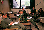 Duke of Westminster the 6th duke, officers mess in Cheshire.  Weekend exercises with the Territorial Army UK 1990s Officers Mess Queens Own Yeomanry.