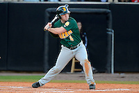 Siena Saints outfielder John Rooney #4 during a game against the Central Florida Knights at Jay Bergman Field on February 16, 2013 in Orlando, Florida.  Siena defeated UCF 7-4.  (Mike Janes/Four Seam Images)