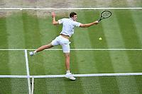 9th July 2021, Wimbledon, SW London, England; 2021 Wimbledon Championships, semi finals; Hubert Hurkacz Pol