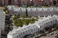 aerial photograph of residential housing Montreal, Quebec, Canada | photographie aérienne d'un logement résidentiel Montréal, Québec, Canada