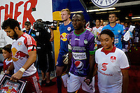 Harrison, NJ - Wednesday Aug. 03, 2016: Roberto Pena during a CONCACAF Champions League match between the New York Red Bulls and Antigua at Red Bull Arena.