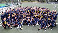 SYDNEY, AUSTRALIA - August 22, 2016:  Cal Bears Football team Australia trip.  Cal football team following the first practice in Sydney.