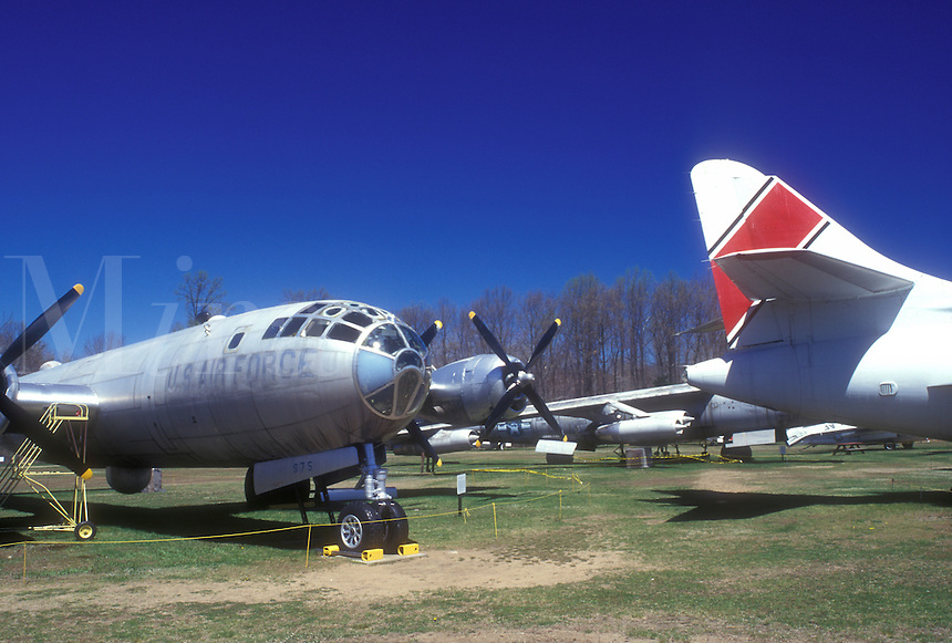AJ1332, Connecticut, Airplanes displayed at the New England Air Museum in Windsor Locks, Connecticut.