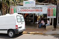 Piracicaba (SP), 07/01/2021 - Covid-19 - Movimentação na UBS do Piracamirim. A procura por atendimento no Centro de Triagem do Coronavírus em Piracicaba (SP) aumentou após as festas de fim de ano, segundo a prefeitura, e bateu recorde desde o início da pandemia. A nova administração municipal também anunciou a transferência da etapa de triagem, que até então era realizada em uma tenda que ficava ao lado da Unidade de Pronto Atendimento (UPA) do Piracicarimim e agora passa a ocorrer dentro da unidade de saúde.