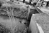 Culiacan, Mexico<br /> June 13, 2007<br /> <br /> A drug related execution, adding to the more then 300 this year in Cuilacan. Francisco de Jesús Ibarra, 33 was found lying in a canal on the outskirts of San Pedro. He had been beaten and shot in the head.