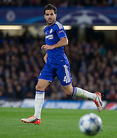 Cesc Fabregas of Chelsea in action during the UEFA Champions League match between Chelsea and Maccabi Tel Aviv at Stamford Bridge, London, England on 16 September 2015. Photo by Andy Rowland.