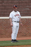 Kevin McMullen of the Virginia Cavaliers vs. the Miami Hurricanes:  March 24th, 2007 at Davenport Field in Charlottesville, VA.  Photo By Mike Janes/Four Seam Images