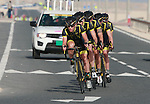 RTS Racing Team in action during the 2nd Stage of the 2012 Tour of Qatar a team time trial at Lusail Circuit, Doha, Qatar, 6th February 2012 (Photo Eoin Clarke/Newsfile)