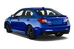 Car pictures of rear three quarter view of 2018 Subaru WRX Base 4 Door Sedan angular rear