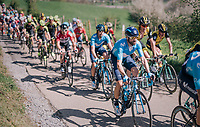 5-time Flèche champion Alejandro Valverde (ESP/Movistar team) up La Redoute<br /> <br /> 82nd Flèche Wallonne 2018 (1.UWT)<br /> 1 Day Race: Seraing - Huy (198km)