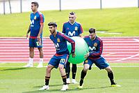 Spain's Thiago Alcantara, Marco Asensio, Iago Aspas and Nacho Fernandez during training session. June 5,2018.(ALTERPHOTOS/Acero) /NortePhoto.com NORTEPHOTOMEXICO