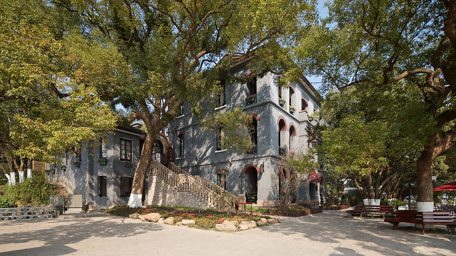 British Consulate, Wenzhou (Wenchow).  Built In 1894 And The Only Three-Storey HBMC In China.<br /> <br /> (Update June 2018: Sadly the building is now closed and is in very poor condition.)