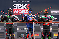 Toprak Razgatlioglu wins race 1 during the 2021 UK Round of the MOTUL FIM Superbike World Championship (WSB) at Donington Park GP Race Circuit, Donington Park GP, England on the 2-4 July 2021. Photo by Ian Hopgood.