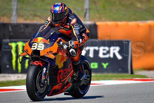 25th Septmeber 2020, Circuit de Barcelona, Catalunya, Spain; MotoGp of Catalunya, Free practise sessions;  33 Brad Binder