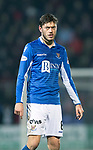 St Johnstone v Aberdeen…..24.11.19   McDiarmid Park   SPFL<br />Murray Davidson<br />Picture by Graeme Hart.<br />Copyright Perthshire Picture Agency<br />Tel: 01738 623350  Mobile: 07990 594431