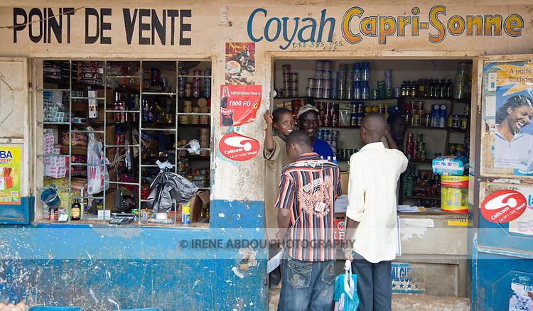 PSI-Guinea wholesaler in Conakry.
