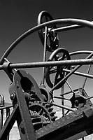 antique farm equipment, road grader