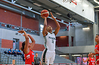 Oderah Chidom (22) of Nigeria pictured during a basketball game between Nigeria and Puerto Rico on Friday 28 th of May 2021 in Kortrijk , Belgium . PHOTO SPORTPIX.BE   SPP   STIJN AUDOOREN