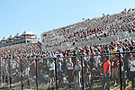 Racing fans pack the stands during the Formula 1 United States Grand Prix race at the Circuit of the Americas race track in Austin,Texas. ...