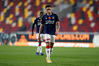 7th November 2020; Brentford Community Stadium, London, England; English Football League Championship Football, Brentford FC versus Middlesbrough; Marcus Tavernier of Middlesbrough