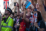 Royal Wedding of Prince Harry and Megham Markle, 19th May 2018. Windsor Berkshire. Using iphones to record event.