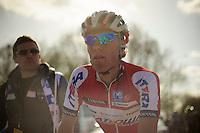 De Ronde van Vlaanderen 2012..Maxime Vantomme post-race