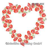 Kate, WEDDING, HOCHZEIT, BODA, valentine, Valentin, paintings+++++Poppy Heart,GBKM401,#W#,#V#, EVERYDAY ,valentine,hearts