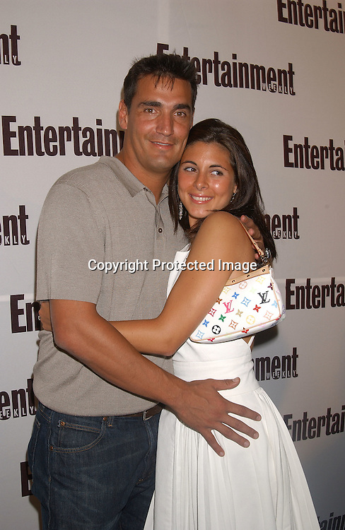 ..Jamie-Lynn Sigler and fiance AJ Discala..at the Entertainment Weekly It List party on June 23,2003 at the Roxy in New York...Photo By Robin Platzer, Twin Images