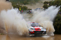 6th June 2021; Olbia, Sardinia, Italy; WRC Rally of Sardegna, final day; Stages SS17-SS20;  Sebastien Ogier-Toyota Yaris WRC wins the race