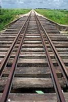 Railroad tracks, Punta Cana, Dominican Republic