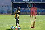 Getafe's Amath Ndiaye during training session. May 25,2020.(ALTERPHOTOS/Acero)